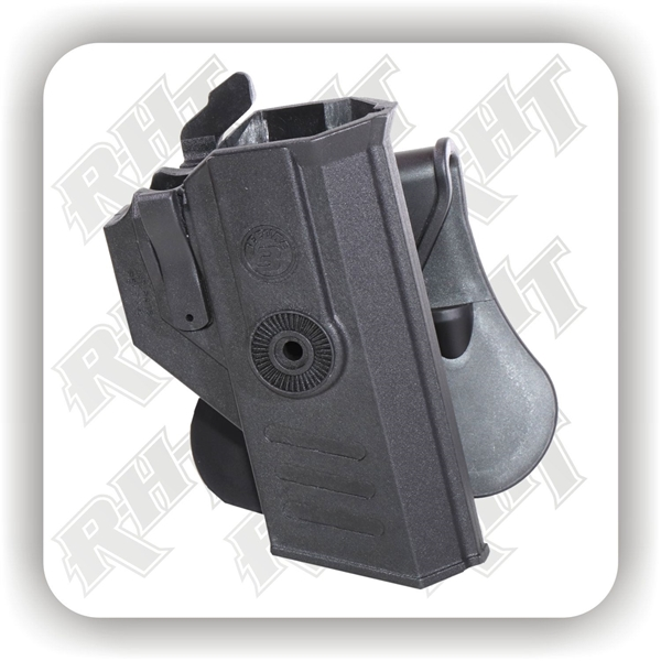 """Picture of CR Tactical """"SECURE3"""" Duty Holster - Paddle"""